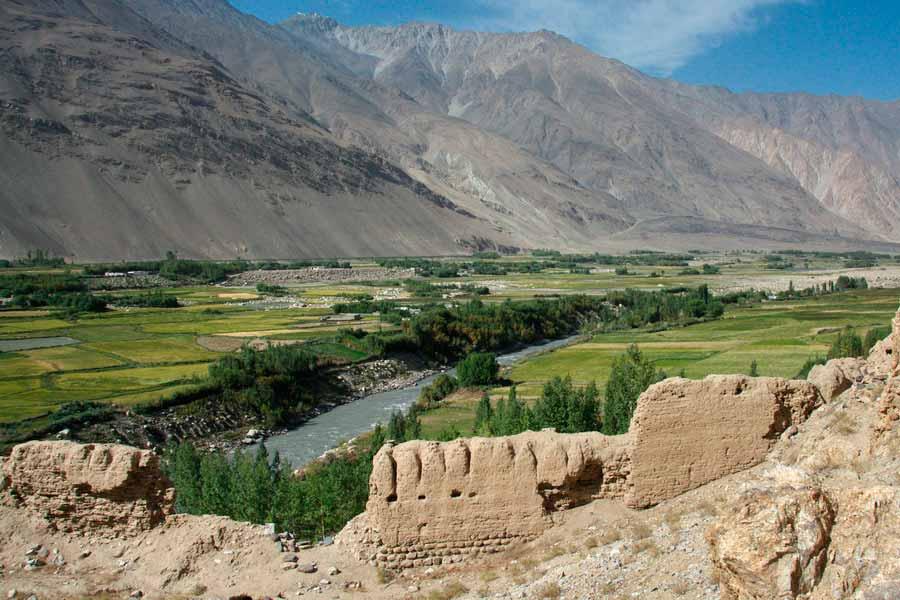 THE FORTRESS OF KAKH-KAKHA